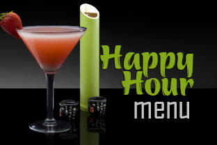 Geisha Happy Hour Menu